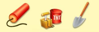 HAYDAY ダイナマイト TNT爆薬 シャベル